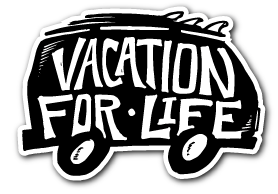 Free Stickers - Vacation for Life