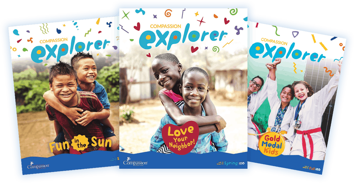 Free Subscription to Compassion Explorer Magazine