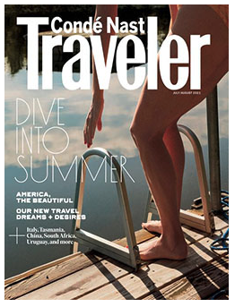 Free Subscription to Condé Nast Traveler