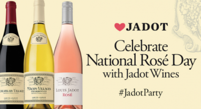 Free taste of Jadot Rosé, Beaujolais-Villages and Macon-Villages Chardonnay