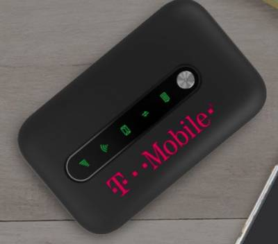 Free Test Drive® hotspot device from T Mobile
