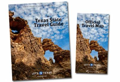 Free Texas Travel Map, Travel Guide and Calendar