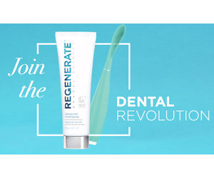 Join: Free Toothpaste Samples from Regenerate Whitening