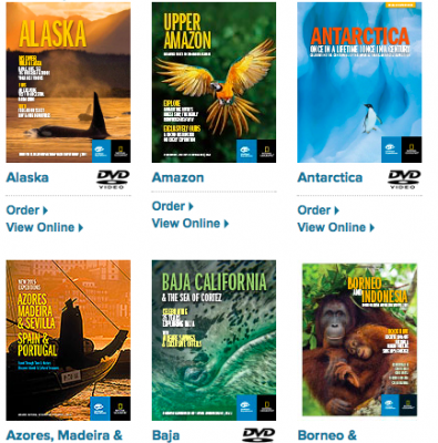 Free Travel Brochures and DVDs