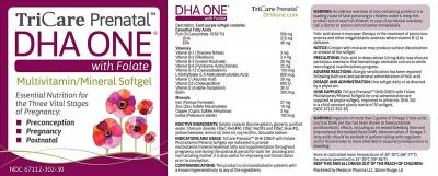 Expectant Moms: Free TriCare Prenatal DHA ONE with Folate