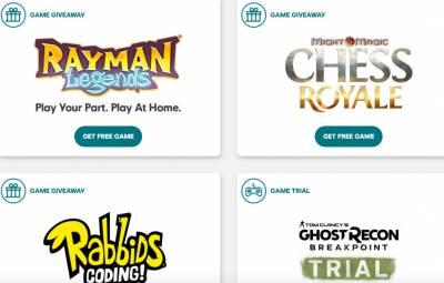 Free Ubisoft Games