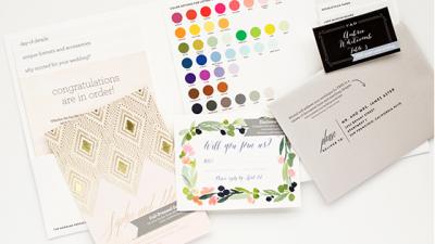 Free Wedding Stationery Sample Kit