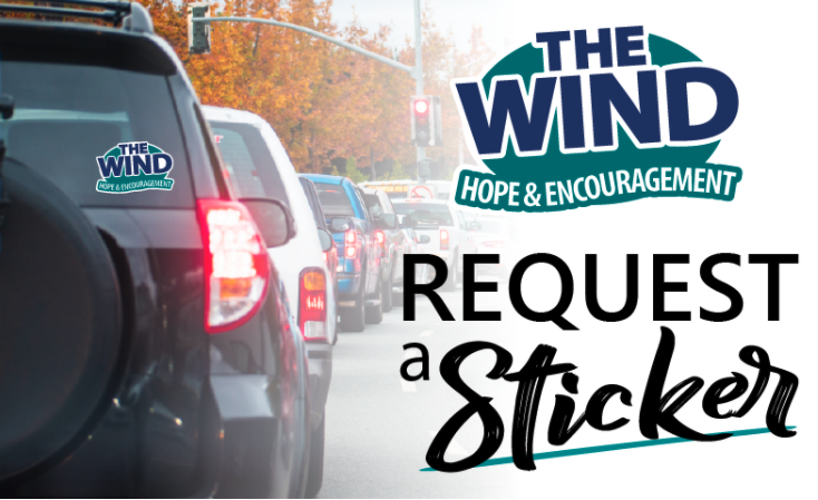 Free Wind Window Decal