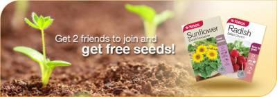 Sign up: Free Yates Seeds