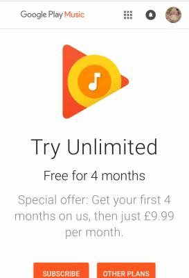 Google Play Music Free