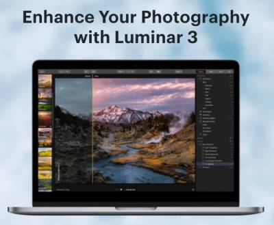 Luminar 3 photo editor for free