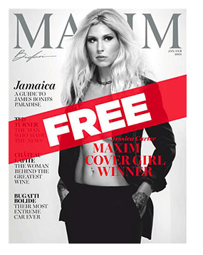 Maxim Digital Magazine for FREE