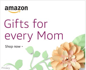 Check out some amazing deals on Mother's Day Gifts!