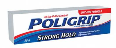 Polident Canada: Request FREE Sample of Poligrip Denture Adhesive Cream