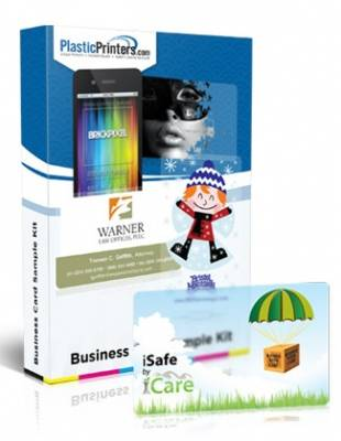 Sample Kit - High Impact Foil Business Cards