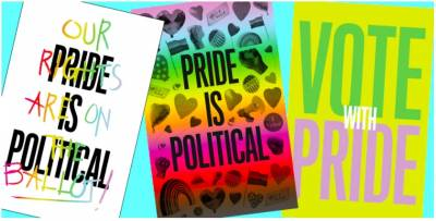Show your PRIDE with free posters