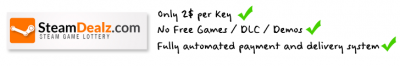 SteamDealz.com - The only SteamGame Lottery on the internet