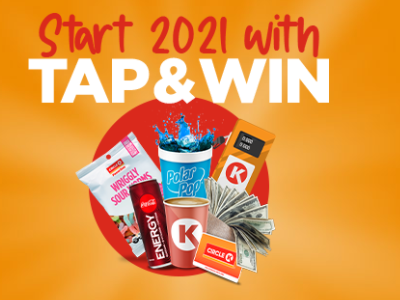 Tap & Win from Circle K