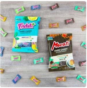 two free samples of Frutati™ & Mocati™ 4oz bags