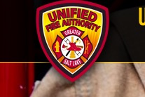 Unified Fire Authority shoulder patch