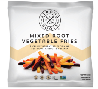 voucher for FREE bag of Frozen Mixed Root Vegetable Fries, 15oz / 425g