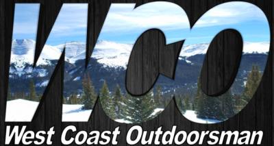 West Coast Outdoorsman logo stickers